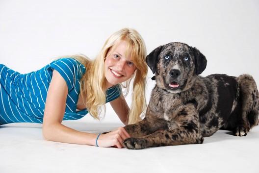 Mon premier chien Rex et Lévéke